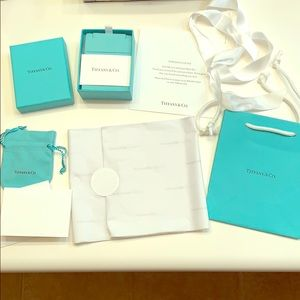 Tiffany & Co. Box, Bag, and Wrapping
